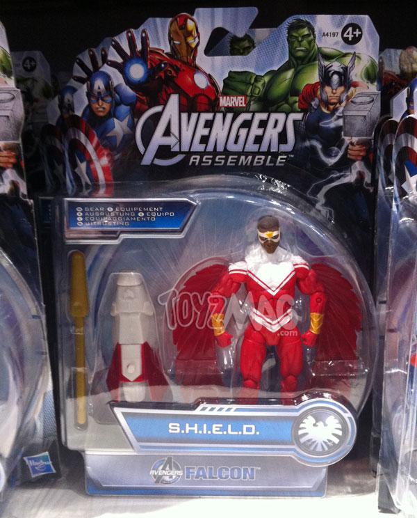Falco, avengers assemble Sheild gear