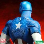 Kotobukiya tease son nouveau Captain America