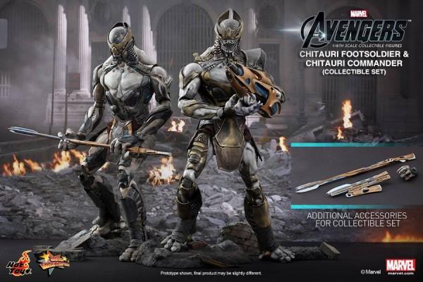 chitauri avengers hot toys marvel 1