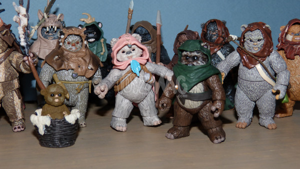 ewok pack hasbro star wars 26