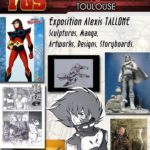 Alexis Tallone s'expose au Toulouse Game Show