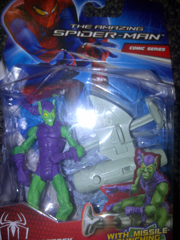 hasbro green goblin amazing spider-man 1