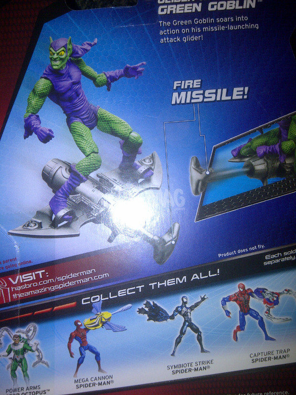 hasbro green goblin amazing spider-man 2