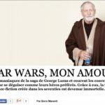 Jouets & Actualités : articles Star Wars dans le Nouvel Observateur