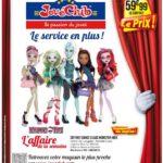 5 Monster High pour 60€ chez JouéClub
