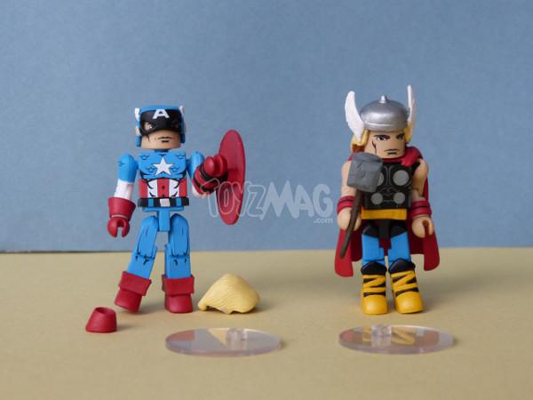 marvel minimates iron patriot capamerica thor 1
