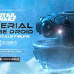 Star Wars-Sideshow : Imperial Probe Droid & Echo Base Previews