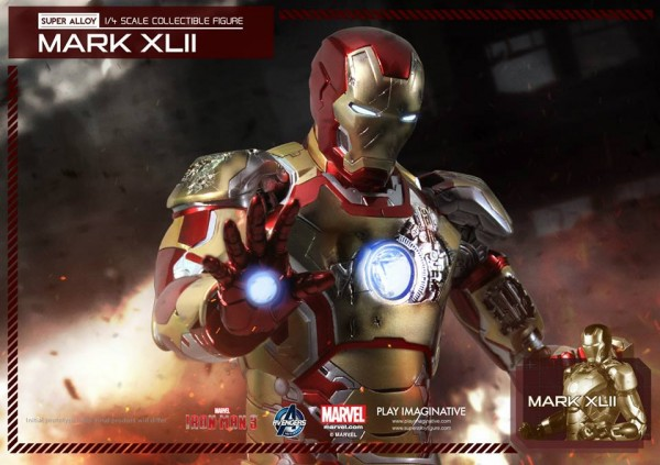 super alloy iron man mk42 1