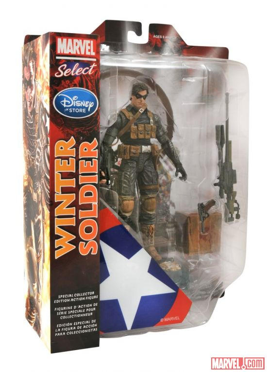 the winter soldier captain america marvel select 3