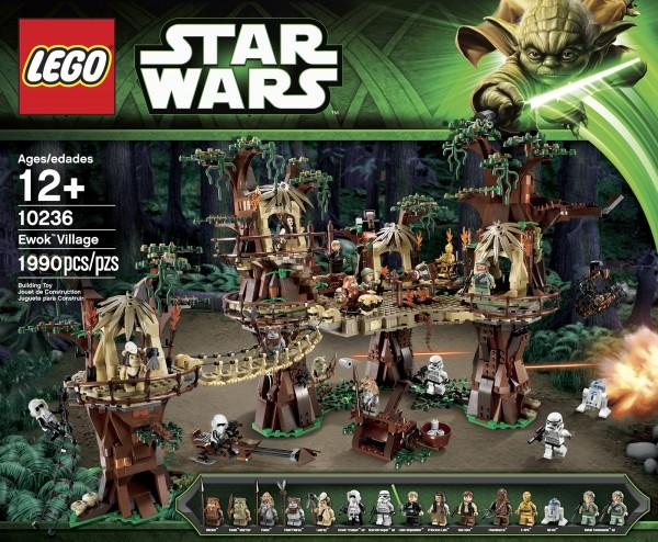 Le village des ewoks LEGO STAR WRAS