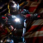 Sideshow : Iron Patriot échelle 1/4