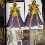 Saint Seiya le modeling du Verseau Myth Cloth Ex