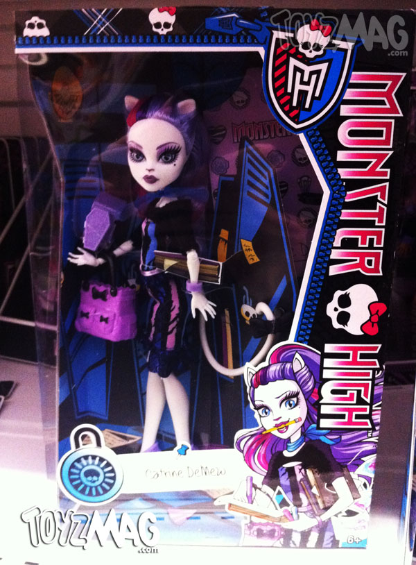 Monster High New Scaremester Catrine DeMew
