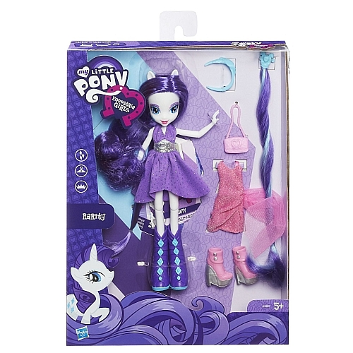 Poupée Equestria Girls Deluxe Rarity
