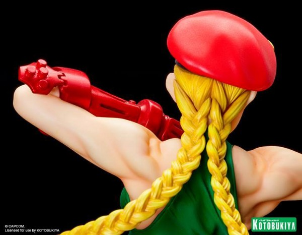 Street Fighter cammy bishoujo Kotobukiya