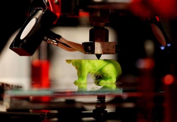 Une imprimante 3D de l'entreprise CBPrinter RMINGAY REX FEATURES SIPA AP