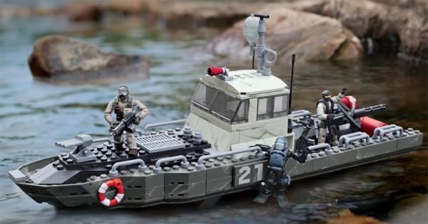 call of duty mega bloks wave 2 coastal patrol