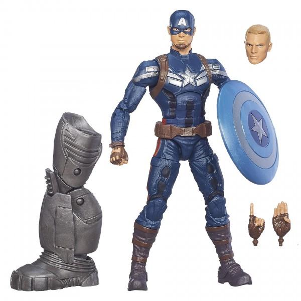 captain america marvel legends cap
