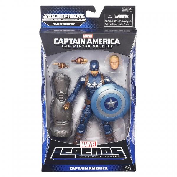 captain america marvel legends packaging