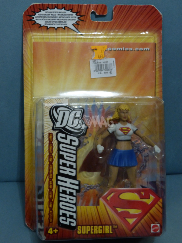 dc supergirl mattel 3