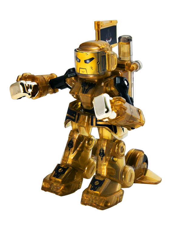 Dent Gold Chase Battroborg Tomy