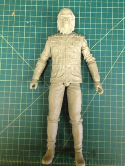 gorilla soldier planet of the apes neca