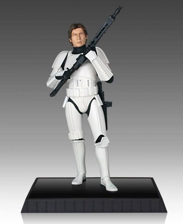 han solo stormtrooper deluxe statue GG 3