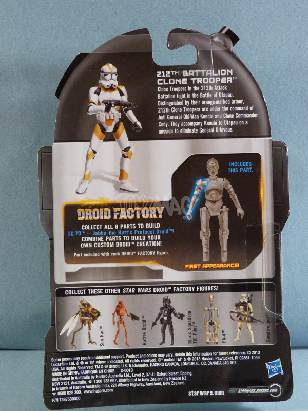 legacy collection BAD 212th Clone trooper 2