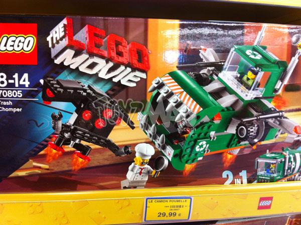 lego movie trash Chomper