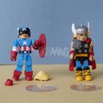 Marvel Minimates : Captain America & Thor