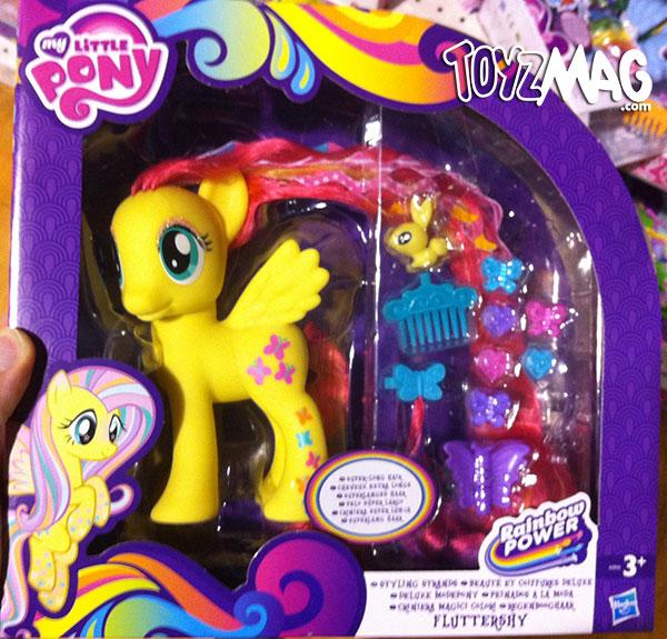 My little Pony Rainbow  Fluttershy Deluxe coiffure