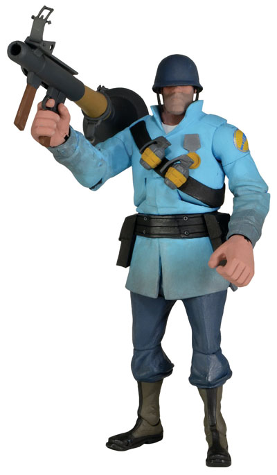neca team fortress serie 2 _Blue_Soldier
