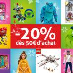 Bon plan : -20% sur le Disney Store avec ToyzMag