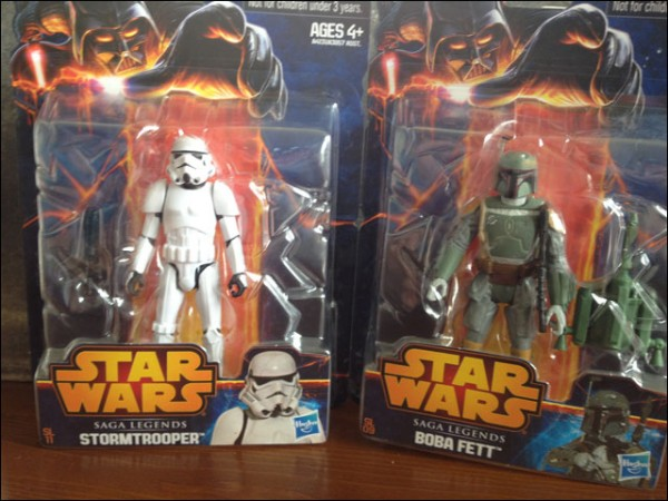 saga legends fett et stormtrooper