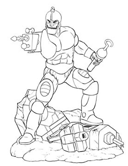 trap jaw PCS filmation motu