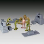 The Walking Dead Army Men Series 2 : Woodbury Arena Survivor Set