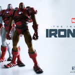 Iron Man par ThreeA