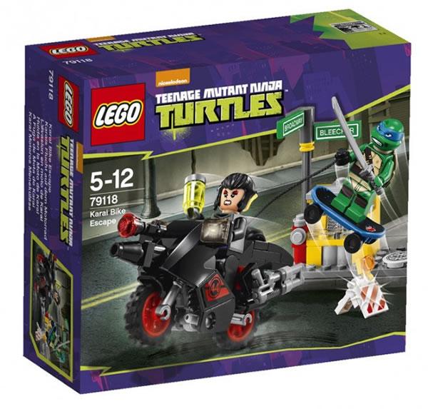 LEGO TMNT 79118 Karai Bike Escape
