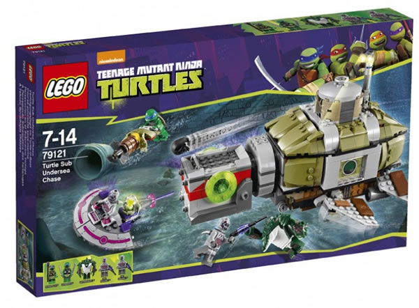 LEGO TMNT 79121 Turtle Sub Undersea Chase