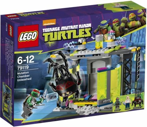 LEGO TMNT Mutation Chamber Unleashed