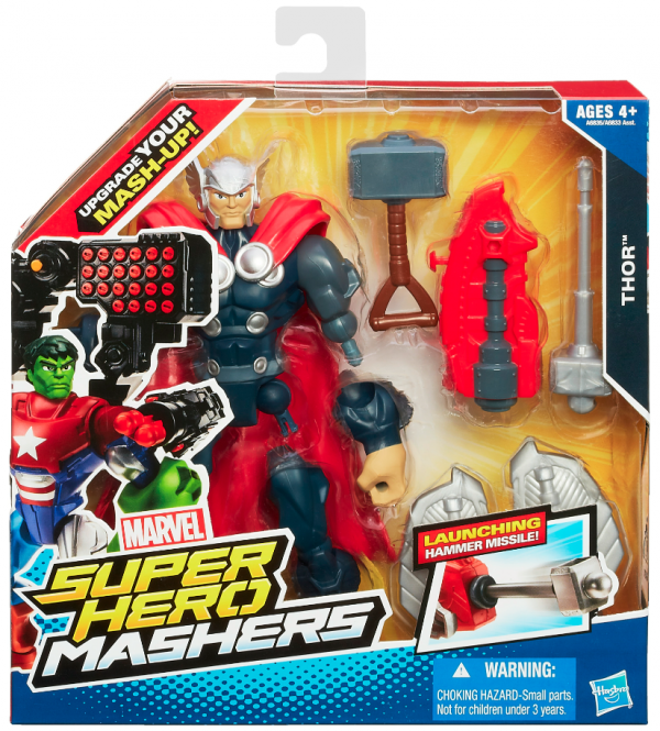 Marvel Super Hero Mashers Battle Upgrade Thor packaging