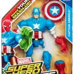 Marvel Super Hero Mashers Captain America packaging