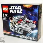 LEGO Microfighters 75030 - Micro review du Faucon Millenium