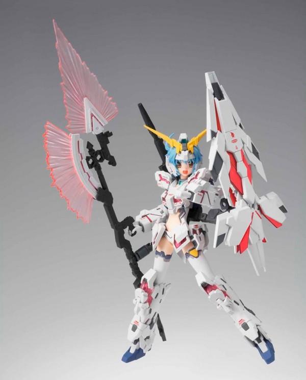 Robot Spirits - Kshatriya - MS Girl Unicorn Gundam / Armor Girls