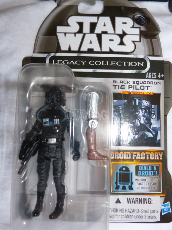 TLC tie pilot black squadron star wars 1
