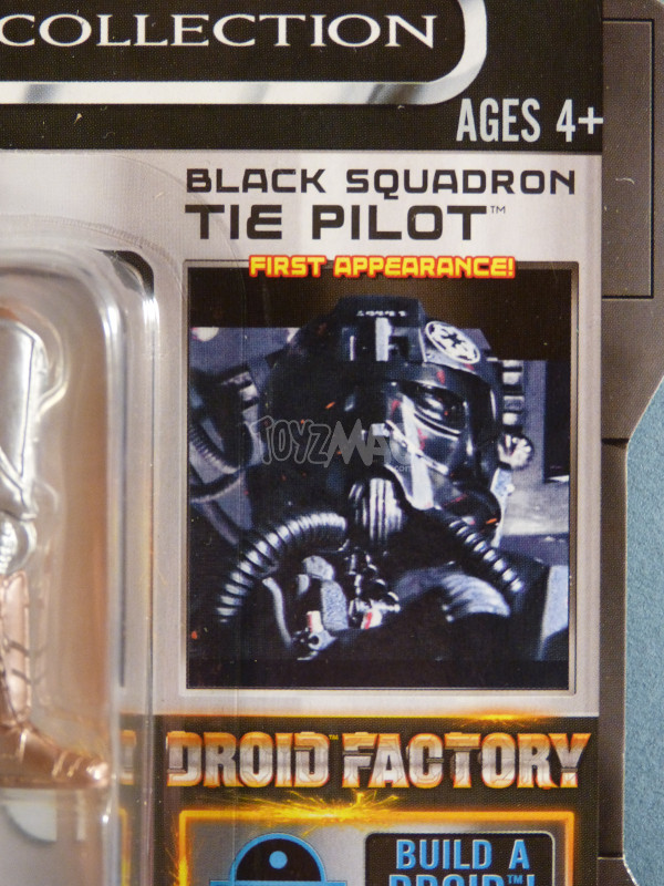 TLC tie pilot black squadron star wars 2