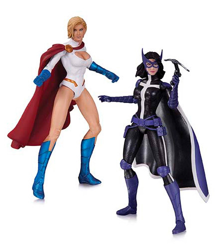 Worlds Finest Power Girl Huntress