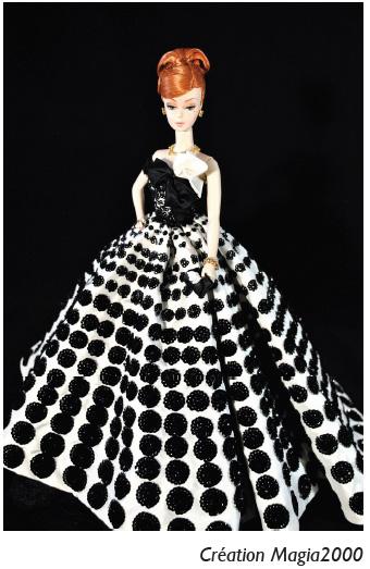 Création Magia2000 Barbie Rétro Chic Expo