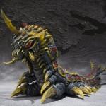 mothra & battra larva set tamashii shfiguarts 6