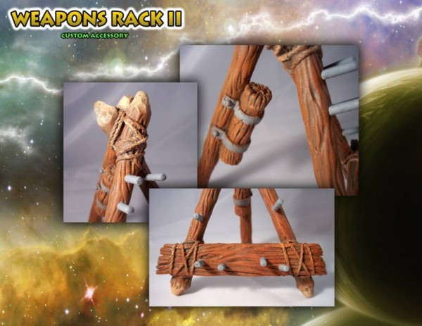 MOTU Classics - Weapons Rack II ''The Forgotten One'' - Barbarossa Art